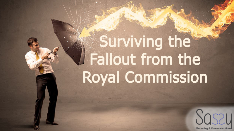 a picture of a manfighting The Fallout from the Banking Royal Commission